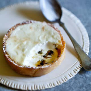 Coconut Yogurt & Passion Fruit Tartlets