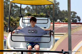 Photo: (Year 3) Day 25 - Edward on the Cable Ride