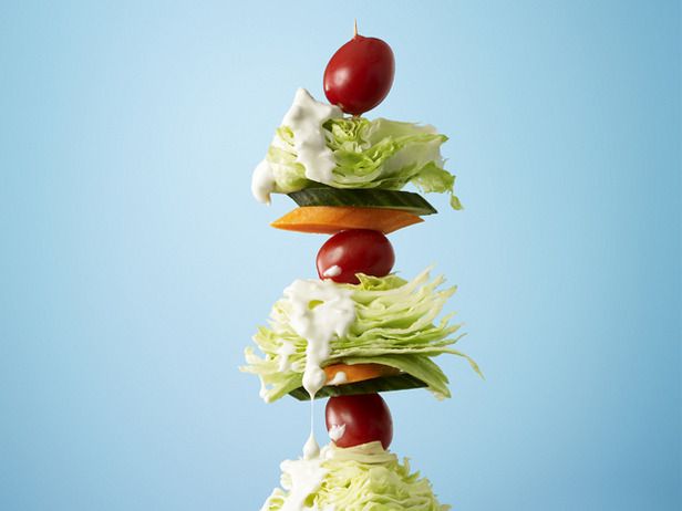 Photo: Get the recipe for Salad on a Stick >> http://ow.ly/hiDjE