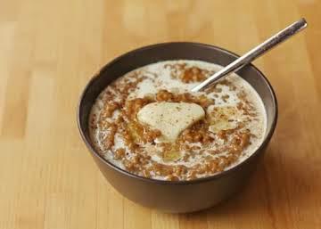 pumpkin pie slow cooker overnight oatmeal