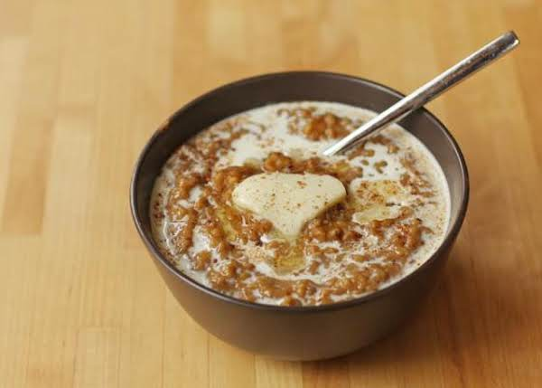 Pumpkin Pie Slow Cooker Overnight Oatmeal Recipe