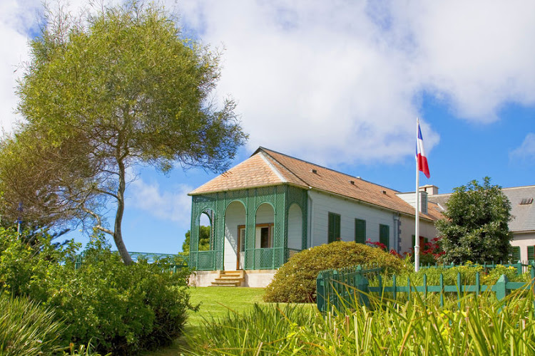 Longwood House, which was the residence of Napoleon during his exile to St Helena