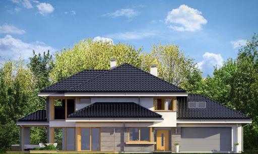 Dom z widokiem 3 - Elewacja przednia