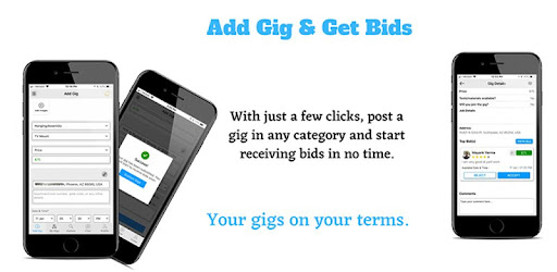 #1 home service app to hire workers & pros or find quick part time gigs nearby