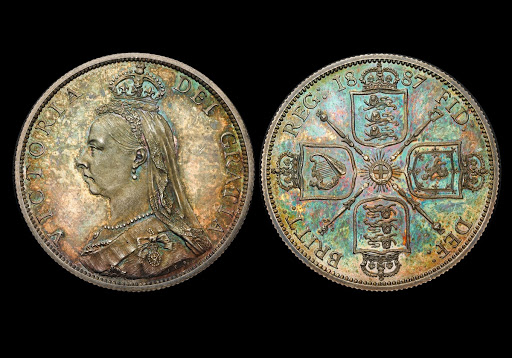 Florin of Queen Victoria