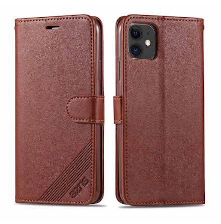 iPhone 12 - Praktiskt Stilrent YAZUNSHI Plånboksfodral