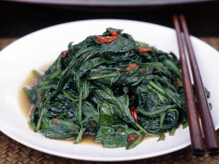 Sambal Spinach Recipe | Yummly