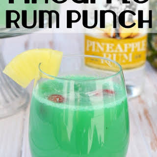 A Delicious Pineapple Rum Punch.