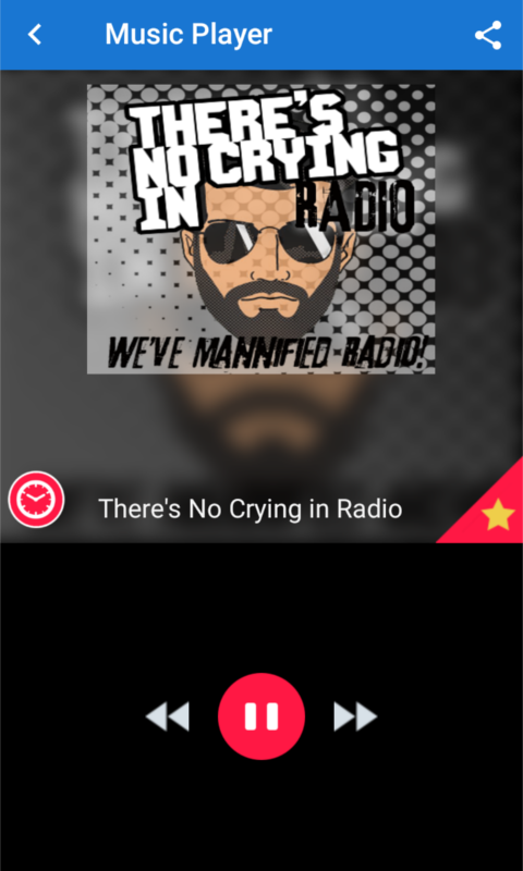 There's No Crying in Radio- screenshot