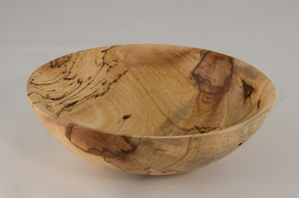 "Photo: Ed Karch 7"" x 2"" bowl [spalted pecan]"