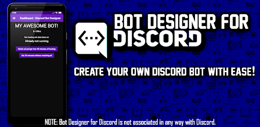 Bot Designer For Discord - by Jakub Tomana - Tools Category - 592