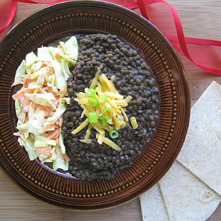 Mexican Style Beluga Lentils