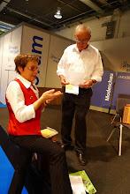 Photo: Der Verantwortliche für das Forum, Herr Fasnacht.