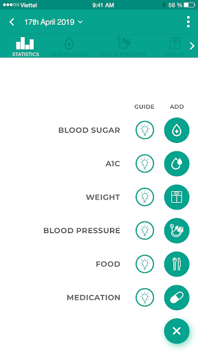 Diabetes Logbook - Blood Glucose Tracker App Report on Mobile Action