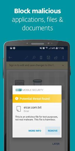 ESET Mobile Security & Antivirus screenshots 2
