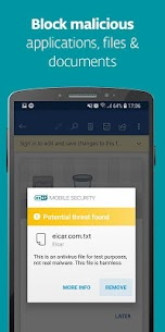 ESET Mobile Security & Antivirus PREMIUM v5.2.68.0 + Keys 2