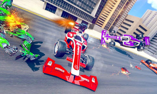 Formula Car Robot Transforming War: Robot Car Game 1.0.8 screenshots 1