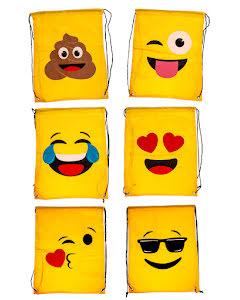Emoji gymnastikpåse