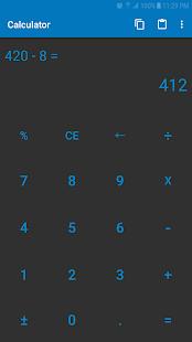 Calculator - Tiny & Free - náhled