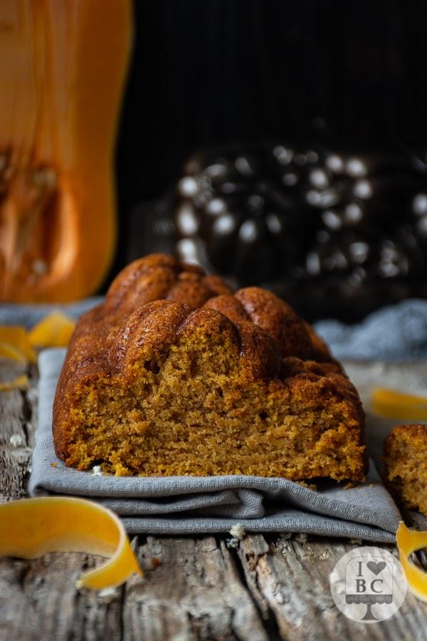 Loaf Cake de calabaza con canela