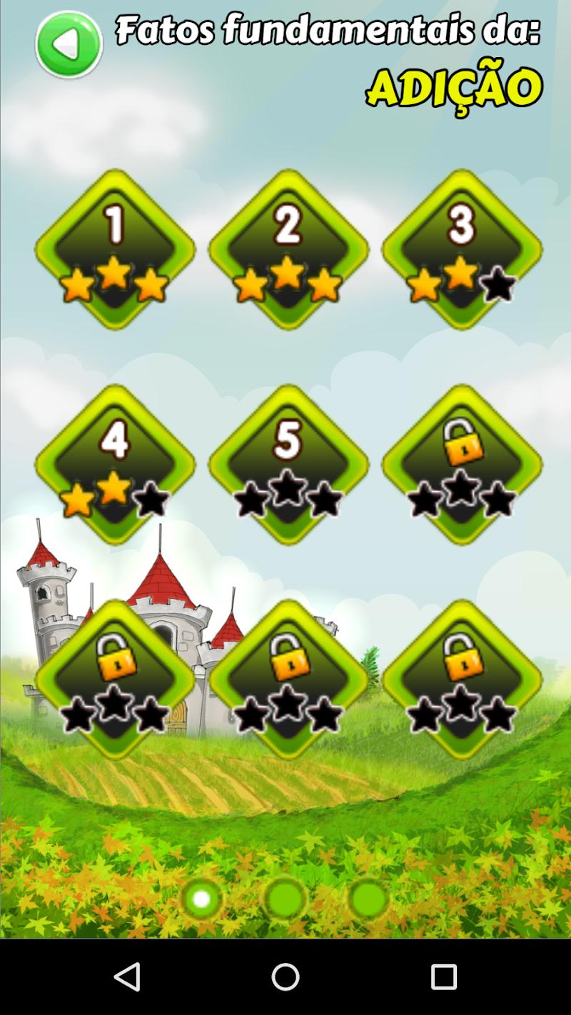 Скриншот Matemágica: Jogo de Matemática