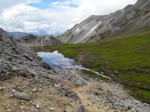Photo: На седловине перевала Хубыты