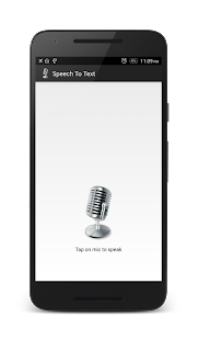 Speech to Text- screenshot thumbnail