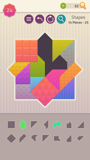 Polygrams - Tangram Puzzle Games 1.1.33 screenshots 4