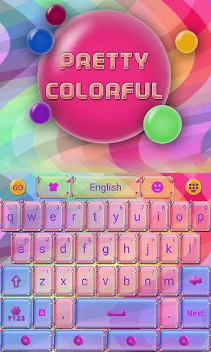 Pretty Colorful Keyboard