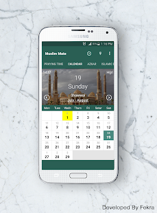 Muslim Mate:Pray Time,Calender- screenshot thumbnail