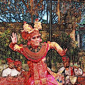 Bali Dancer by Jeffri Yonardi - Digital Art People