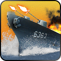 Russian Navy Destroyer Ship 3D icon