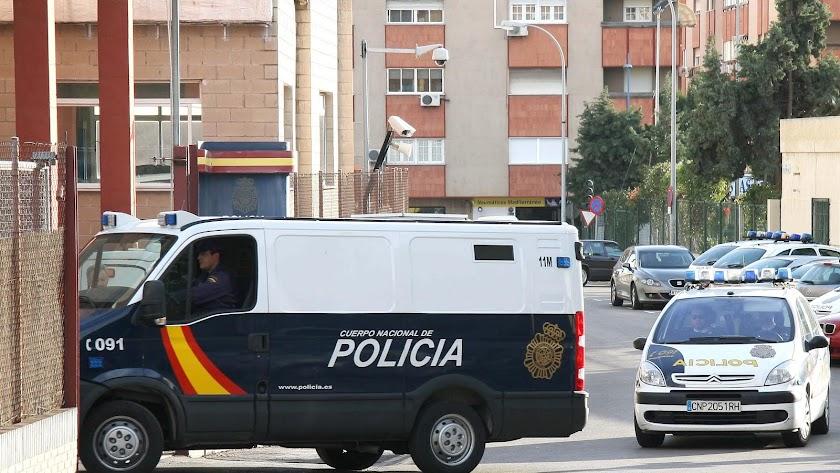 Comisaría de la Policía Nacional.