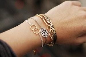 купить золотой браслет на руку
