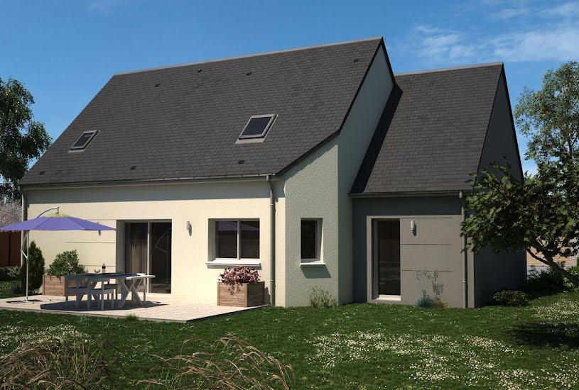 Vente Terrain + Maison - Terrain : 1177m² - Maison : 129m² à Chevannes (45210)