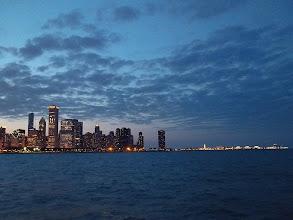 Photo: Chicago skyline and Navy Pier