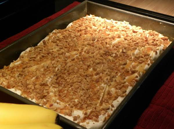 Christy's Banana Cream Puff Dessert Recipe