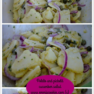 Potato And Pickled Cucumber Salad