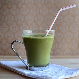 Almond Coffee Green Smoothie.