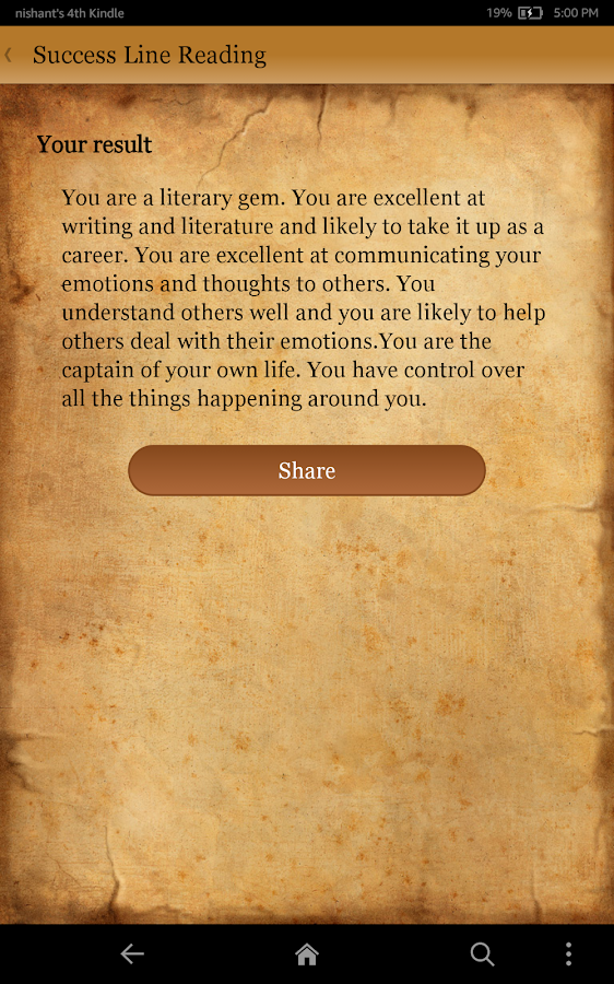 Palm Reading - Fortune Teller - screenshot