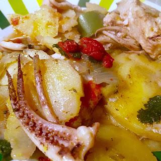 Squid and Conger Fish Stew/Caldeirada de Lulas e Safio.