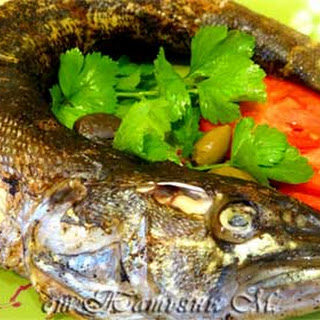Russian Easy Baked Pike