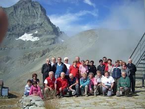 Photo: Il gruppo e la Bessanese m.3604