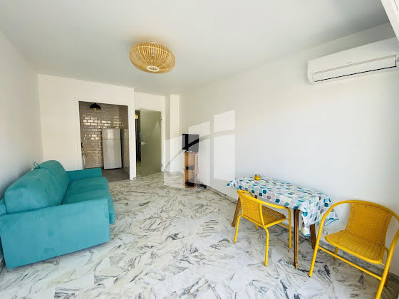 Location studio meublé 27,7 m2