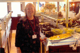 Photo: Breakfast was an elaborate buffet, which even included herrings and pickled beets. I was in my element!
