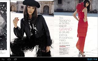 Screenshot of Glamour Italia