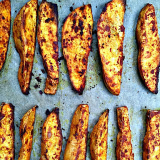Smoky Roasted Sweet Potato Wedges.