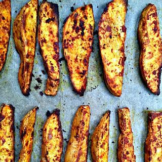 Smoky Roasted Sweet Potato Wedges.