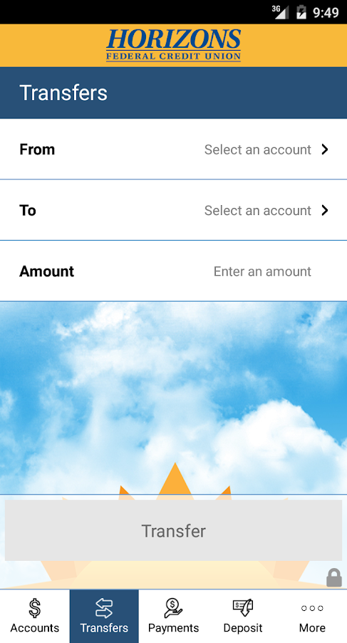 Horizons FCU Mobile- screenshot