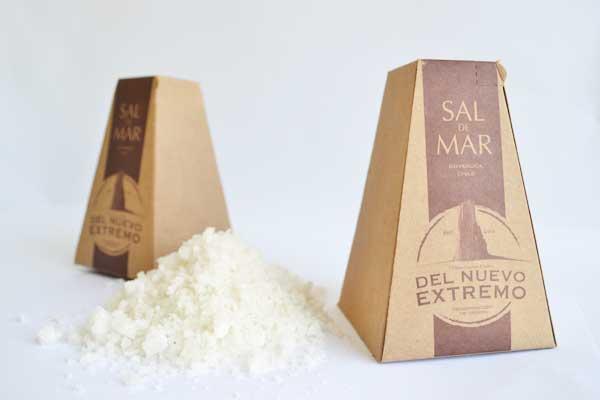 packaging sal de mar del nuevo extremo